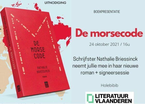 Holebibib – Auteurslezing: Nathalie Briessinck – De morsecode